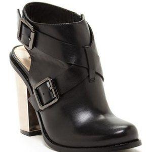 Kristin Cavallari Remi Mirrored blocked heel